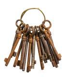 Grupo de chaves velhas Imagens de Stock