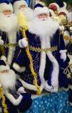 Grupo de cláusulas de Santa foto de stock
