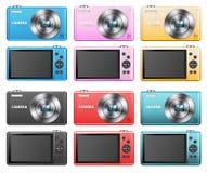 Grupo de câmeras pequenas Foto de Stock