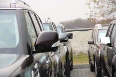 Grupo de coches Imagenes de archivo