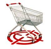 Grupo de consumidores do alvo Imagem de Stock