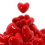 Grupo de corações Fotos de Stock