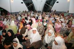 Grupo de creyentes islámicos Fotografía de archivo libre de regalías