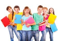 Grupo de crianças. Imagem de Stock