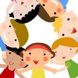 Grupo de crianças Foto de Stock Royalty Free