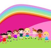 Grupo de crianças Imagens de Stock Royalty Free