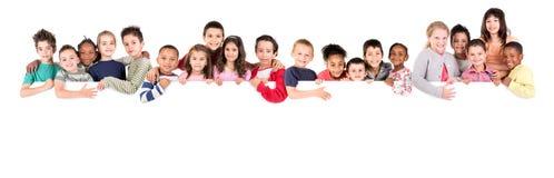 Grupo de crianças Fotos de Stock