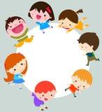 Grupo de crianças que têm o divertimento Imagens de Stock
