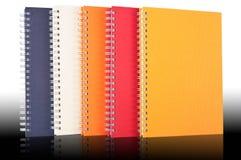 Grupo de cuaderno Foto de archivo libre de regalías
