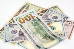Grupo de cuenta de dólares Imágenes de archivo libres de regalías