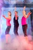 Grupo de dançarinos fotos de stock