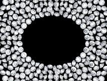 Grupo de diamantes Fotografia de Stock