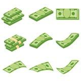 Grupo de dinheiro ilustração royalty free