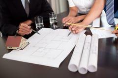 Grupo de discussão dos coordenadores Imagem de Stock Royalty Free
