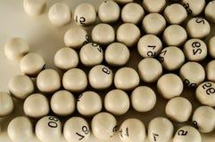 Grupo de diversas bolas do bingo Imagem de Stock Royalty Free