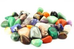Grupo de diversos tipos piedras del nacimiento. Imagen de archivo libre de regalías
