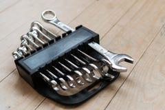 Grupo de DIY das chaves inglesas home Imagem de Stock