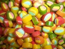 Grupo de doces doces coloridos fotografia de stock royalty free