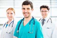 Grupo de doctores imagen de archivo