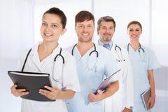 Grupo de doctores Fotos de archivo libres de regalías
