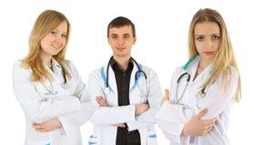 Grupo de doctores Foto de archivo