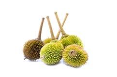 Grupo de durians Imagens de Stock