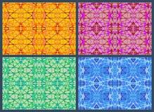 Grupo de elástico abstrato da rede Fotos de Stock