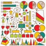 Grupo de elemento de Infographic Foto de Stock Royalty Free