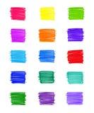 Grupo de elementos coloridos abstratos foto de stock royalty free