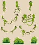 Grupo de elementos da natureza. Foto de Stock Royalty Free