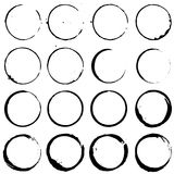 Grupo de elementos 02 do círculo Imagem de Stock Royalty Free
