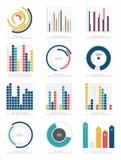Grupo de elementos do infographics Fotografia de Stock Royalty Free