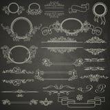 Grupo de elementos do projeto Imagens de Stock Royalty Free