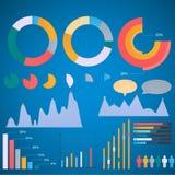 Grupo de elementos infographic Imagem de Stock Royalty Free