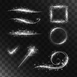 Grupo de elementos mágicos Imagem de Stock Royalty Free