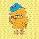 Grupo de emoções da caneca dos desenhos animados (copo) Imagem de Stock Royalty Free