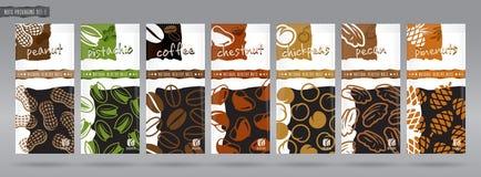 Grupo de empacotamento Nuts - 1 Fotografia de Stock Royalty Free