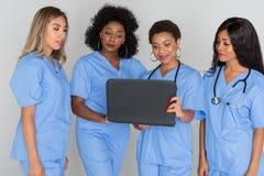 Grupo de enfermeiras Imagem de Stock Royalty Free