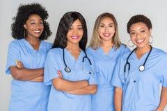 Grupo de enfermeiras Fotos de Stock Royalty Free