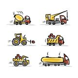 Grupo de equipamento de construção para seu projeto Imagem de Stock Royalty Free