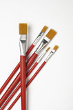 Grupo de escova de pintura Fotografia de Stock Royalty Free