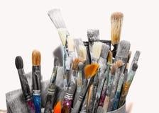 Grupo de escovas Imagem de Stock Royalty Free