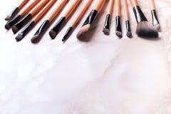 Grupo de escovas da composição Fotografia de Stock