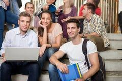 Grupo de estudiante fotos de archivo