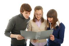 Grupo de estudiantes Fotos de archivo libres de regalías