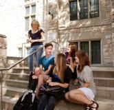 Grupo de estudiantes Foto de archivo libre de regalías