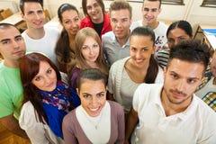 Grupo de estudiantes Imagenes de archivo