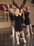 Grupo de estudiantes del ballet Imágenes de archivo libres de regalías