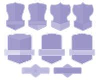 Grupo de etiquetas Foto de Stock