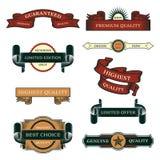 Grupo de etiquetas do vintage da venda Imagens de Stock